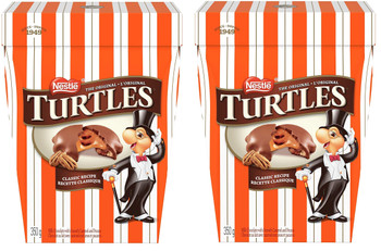 Nestle Turtles Original Chocolates 350g/12.34 oz., (2 Pack), {Imported from Canada}