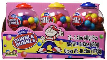 Kidsmania Dubble-Bubble Mini Gumball Machine (12 Units) 1.15kg/16.93oz. {Imported from Canada}