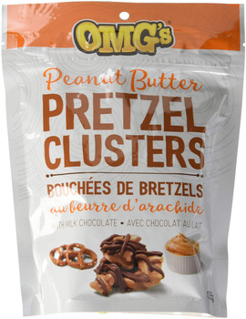 OMG's Clusters  Peanut Butter Pretzel  135g/4.8oz {Imported from Canada}