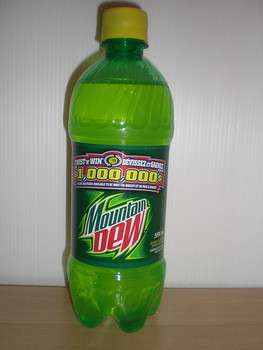 Canadian Mountain Dew 591ml/20oz bottle {Imported from Canada}