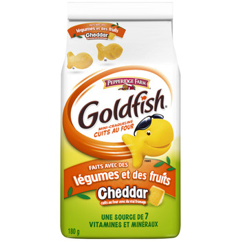 Pepperidge Farm Goldfish Veggies & Fruits Crackers 180g/6.1oz., (12 Pack) {Imported from Canada}