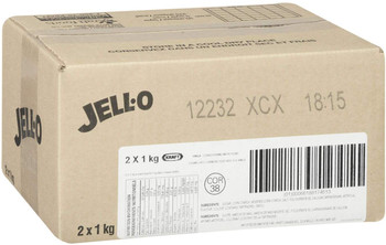 Jell-O Vanilla Instant Pudding Pie Filling, 1kg/2.2lbs., 2pk {Imported from Canada}