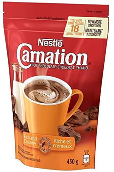 Nestle Carnation Rich and Creamy Hot Chocolate Mix, 450g/15.9 oz. {Imported from Canada}