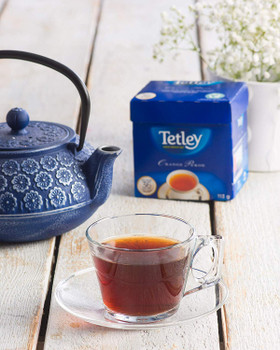 Tetley Orange Pekoe Black Tea - 72 Count, 227g/8 oz., {Imported from Canada}