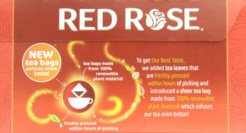 Canadian Red Rose Tea - 72 tea bags {Imported from Canada}
