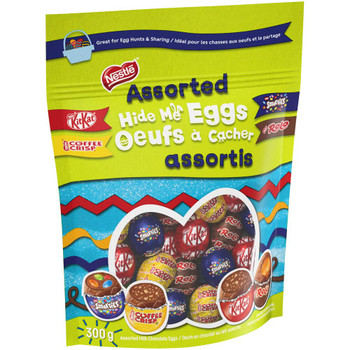 Nestle Assorted Hide Me Easter Eggs 300g/10.6 oz., {Imported from Canada}