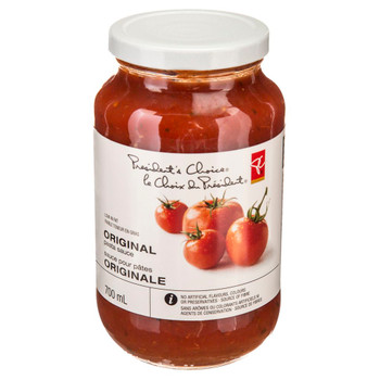 PC Original Pasta Sauce 700ml/23.7 oz., {Imported from Canada}