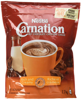 CARNATION Rich and Creamy Hot Chocolate Mix, 1.7 Kg {Imported from Canada}