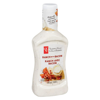 PC Ranch With Bacon Dressing 475ml/16 oz., {Imported from Canada}
