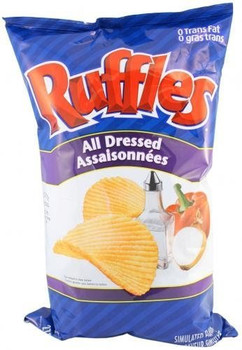 Ruffles All-dressed Chips by Ruffles