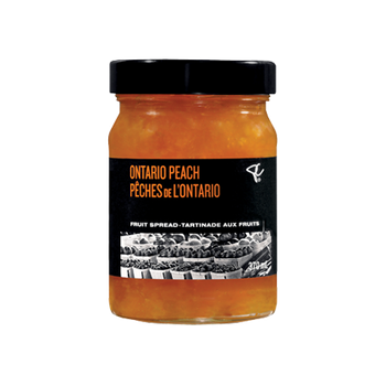 PC Black Label Ontario Peach Fruit Spread 370ml/12.5 oz. {Imported from Canada}