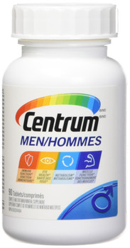 Centrum Multivitamins  for Men, 90 tabs {Imported from Canada}