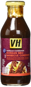 VH Korean BBQ Stir Fry Sauce (12 Count), 355ml/12oz., Jars {Imported from Canada}