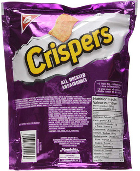Christie Crispers All Dressed, 175g/6.2 oz, (3 Pack),{Imported from Canada}