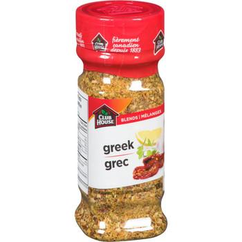 CLUB HOUSE One Step Seasoning, Greek 120g/4.2 oz. {Imported from Canada}