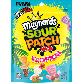 Maynards Sour Patch Kids Tropical Candy, (355g/12.5 oz) {Imported from Canada}