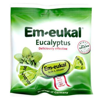 Em-eukal Eucalyptus Bonbons 50g (1.8oz) {Imported from Canada}
