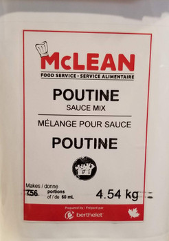 Berthelet Poutine Mix Sauce, McLean Foodservice 4.54kg/10lbs, {Imported from Canada}