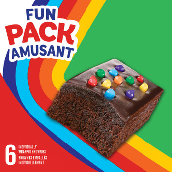 Hostess Rainbow Chip Brownies 252g/8.9 oz. {Imported from Canada}