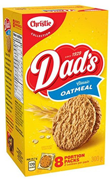 Christie Dad's Classic Oatmeal Cookies 300g Portion Pack (10.58oz) {Canadian}