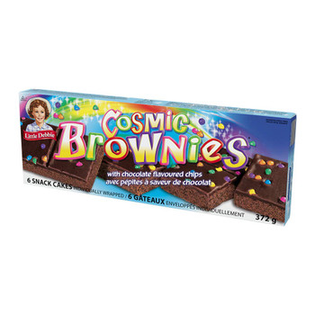 Little Debbie Cosmic Brownie Snack Cakes, 372g/13.1 oz {Imported from Canada}