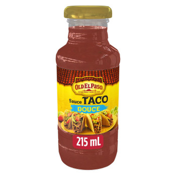 Old El Paso Taco Mild Sauce 215ml/7.3 fl. oz., {Imported from Canada}