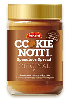Penotti Cookie Notti, Speculoos Spread, 400g/14.1 oz. {Imported from Canada}