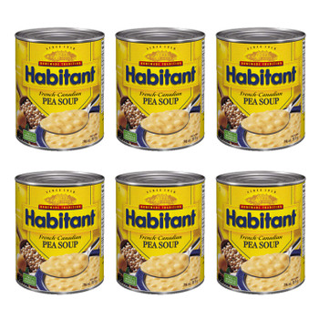 Habitant French Canadian Pea Soup 796ml/28 fl. oz. 6-Pack {Imported from Canada}