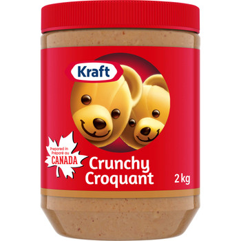 Kraft Crunchy Peanut Butter 2kg/4.4 lbs. {Imported from Canada}