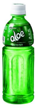 PALDO Exposed Aloe Vera Juice Drink, Aloe Vera PLASTIC (16.9oz/500ml Plastic Bottles, 6 Count)