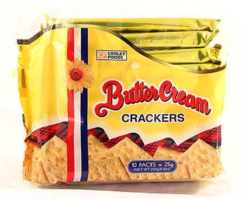 Croley Foods Butter Cream Original Crackers 250g/8.8 oz. {Imported from Canada}