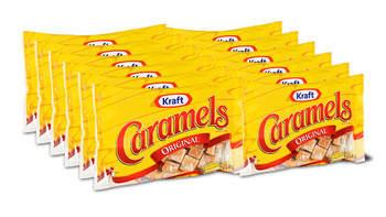 Kraft Original Caramels Candy, 340g/12 oz., (12pk) {Imported from Canada}