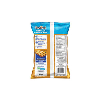 Tostitos Multigrain Rounds Tortilla Chips 270g/9.5oz, 3-Pack {Imported from Canada}