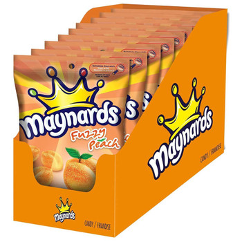 Maynards Fuzzy Peach 185g/6.5oz, 9-Pack {Imported from Canada}