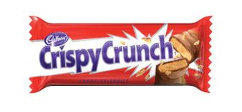 Cadbury Crispy Crunch Mini Chocolate Bars 10 Snack Size, 115g/4oz, 5-Pack{Imported from Canada}