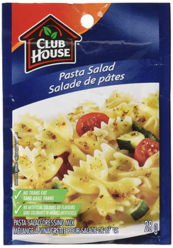 Club House, Pasta Salad Dressing Mix, 28g/1 oz., {Imported from Canada}