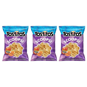 Tostitos Scoops! Tortilla Chips 215g/7.5oz, 3-Pack {Imported from Canada}