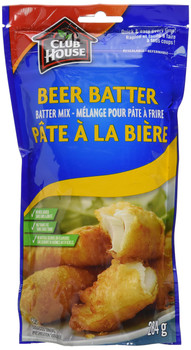 Club House Beer Batter 284g/10 oz., 6-count {Imported from Canada}