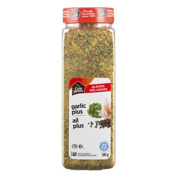 Club House Garlic Plus Seasoning One Step, 580g {Imported from Canada}