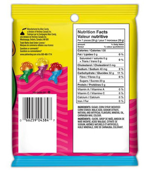 Jolly Rancher Misfits Mer-Bears Gummies Candy, 182g/6.4 oz., {Imported from Canada}