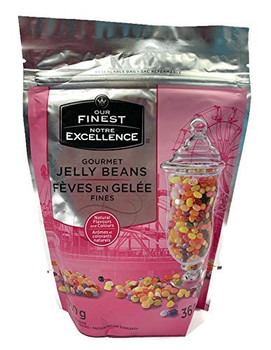 Our Finest Gourmet Jelly Beans, 300g/10.6 oz., Bag, 36 Flavours, {Imported from Canada}