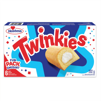 Hostess Twinkies Golden Cakes, 202g/7.1 oz {Imported from Canada}