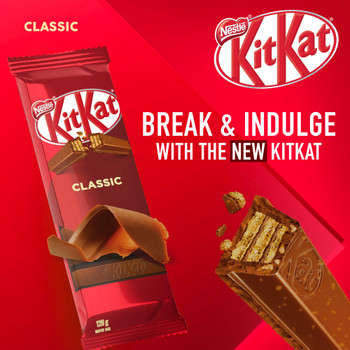 Nestle Kitkat Classic Wafer Bar, 120g/4.2 oz., {Imported from Canada}