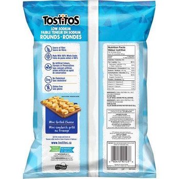 Tostitos Low Sodium Rounds Tortilla Chips 295g/10.4oz, 2-Pack {Imported from Canada}