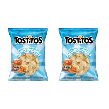 Tostitos Low Sodium Tortilla Chips 295g/10.4oz, 2-Pack {Imported from Canada}