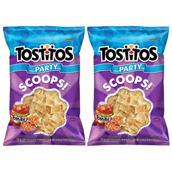 Tostitos Scoops Tortilla Chips Party Size, 335g/11.8oz, 2-Pack {Imported from Canada}
