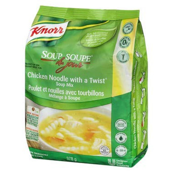 Knorr Chicken Noodle Twist, Soup Du Jour 378g/13.3oz {Imported from Canada}