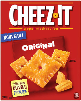 Cheez-It Original Crackers, 200g/7.1 oz, {Imported from Canada}
