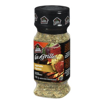 Club House La Grille Vegetable Seasoning,148g/5.22oz {Imported from Canada}