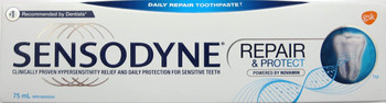 Sensodyne with Novamin, Repair & Protect 75mL (Canadian)